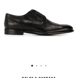 Dolce & Gabbana Panelled Brogues size 9